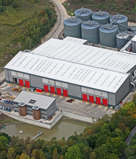 Biffa Environmental Waste Disposal Depot